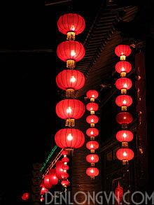đèn lồng trang trí tết Lồng đèn trang trí tết truyền thống