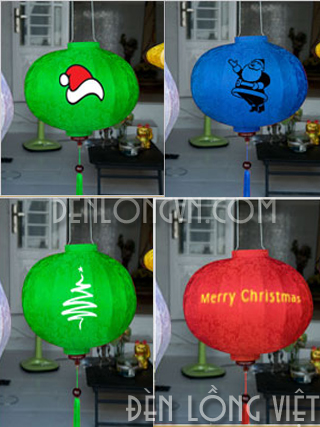 DLT023 Đèn lồng trang trí cây thông Noel