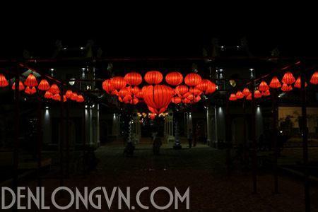 ao dieu den long trang tri 3 Ảo diệu đèn lồng trang trí đường phố