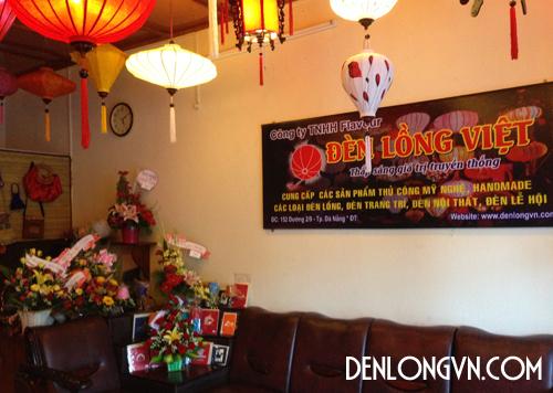 Cửa hàng ĐÈN LỒNG VIỆT tại Đà Nẵng