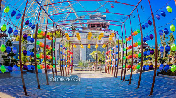 con duong den long hoi an dep nhat 1 Sự kiện lễ hội đèn lồng Hội An đẹp nhất Đà Nẵng