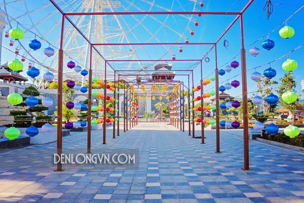 con duong den long hoi an dep nhat Sự kiện lễ hội đèn lồng Hội An đẹp nhất Đà Nẵng