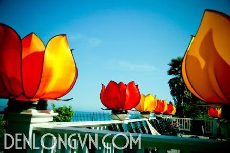 den hoa sen trang tri le hoi 2 Đèn hoa sen trang trí lễ hội