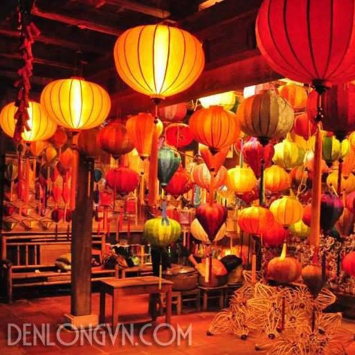 den hoi an mua den long o dau Đèn lồng Hội An được công nhận nhãn hiệu nổi tiếng