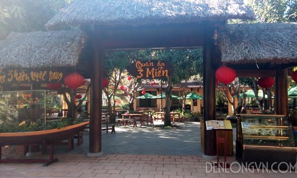 den long Nha Trang1  Đèn lồng trang trí nhà hàng ở Nha Trang