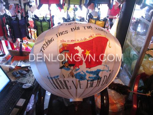 den long bien dao viet nam Đèn lồng biển đảo Việt Nam