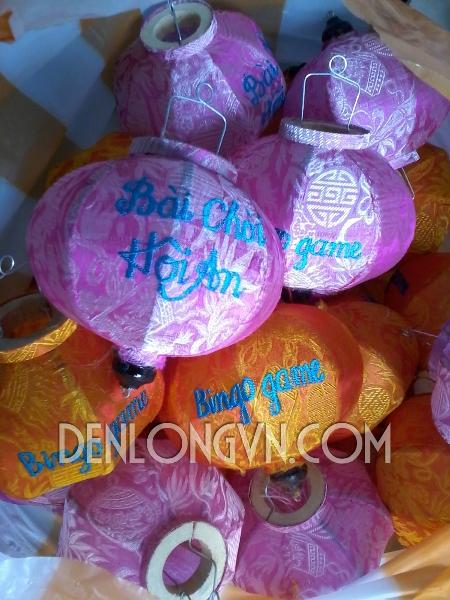 den long theu bai choi Hoi An Cơ sở làm đèn lồng cho Bài Chòi Hội An