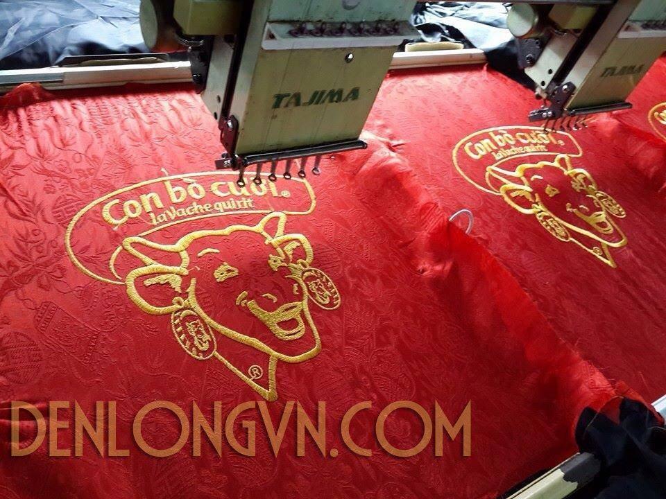 den long theu logo cong ty 1 Đèn lồng trang trí tết công ty