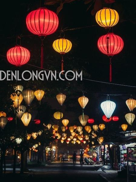 den long trang tri duong pho tet Phân biệt Đèn Lồng Việt và Đèn Lồng Trung Quốc