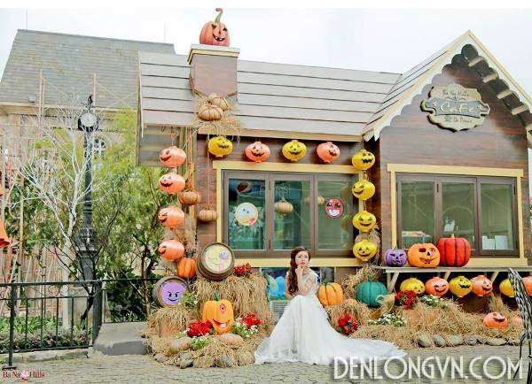 den long trang tri halloween 1