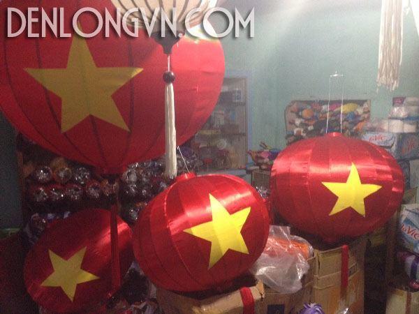 den long trang tri quoc khanh Viet Nam 2 Đèn lồng trang trí Quốc Khánh
