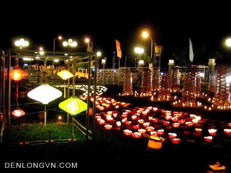 den long trang tri resort 2 Đèn lồng trang trí Resort