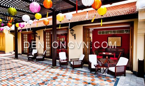 den long trang tri resort 3 Đèn lồng trang trí Resort