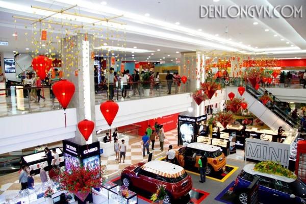 den long trang tri trung tam thuong mai e1447333242505 Đèn lồng trang trí tết trung tâm thương mại