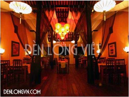 dlttqa03 Đèn lồng trang trí quán ăn