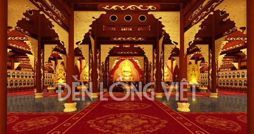 dlvttcc 2 Đèn lồng trang trí đình chùa