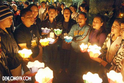 hop xuong 2013 Đèn lồng Việt   Biểu tượng của Hội thi hợp xướng Quốc tế lần III