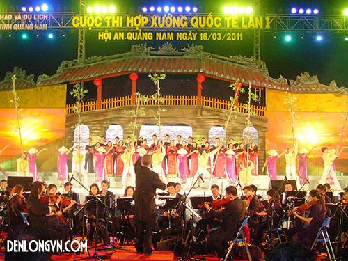 hop xuong Đèn lồng Việt   Biểu tượng của Hội thi hợp xướng Quốc tế lần III