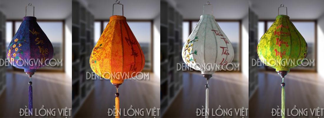 kiểu dáng đèn lồng tết tỏi ngược mới lạ Các kiểu đèn lồng trang trí tết mới lạ