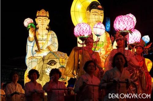 Trang trí Đại lễ Phật Đản