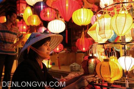 cửa hàng đèn lồng Hội An
