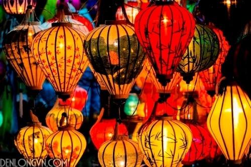 trang tri dep vơi den lòng hoi an 14 Sử dụng đèn lồng Việt ủng hộ hàng Việt