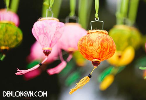 tttcnt 2 Trang trí tiệc cưới ngoài trời với Đèn lồng Việt