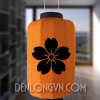 Đèn lồng Nhật Bản in hoa