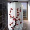 Đèn lồng Nhật vẽ hoa đào
