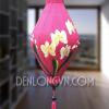 Đèn lồng Na vẽ hoa lan