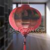 Đèn lồng đỏ vẽ tranh chùa Thiên Mụ