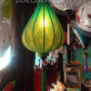 Đèn lồng vải hoa mẫu 3