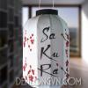 Đèn lồng Nhật Sakura hoa đào