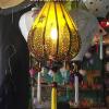 Đèn lồng vải hoa mẫu 8