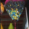 Đèn lồng vải hoa mẫu 16