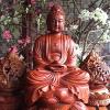 Tượng gỗ Phật Thích Ca mẫu 1