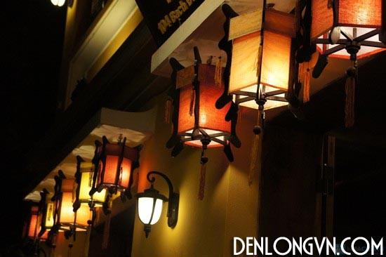 Đèn lồng gỗ trang trí tết1