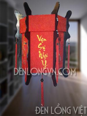 đèn lồng gỗ tết vạn sự như ý