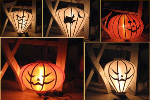 Mẫu đèn lồng trang trí halloween