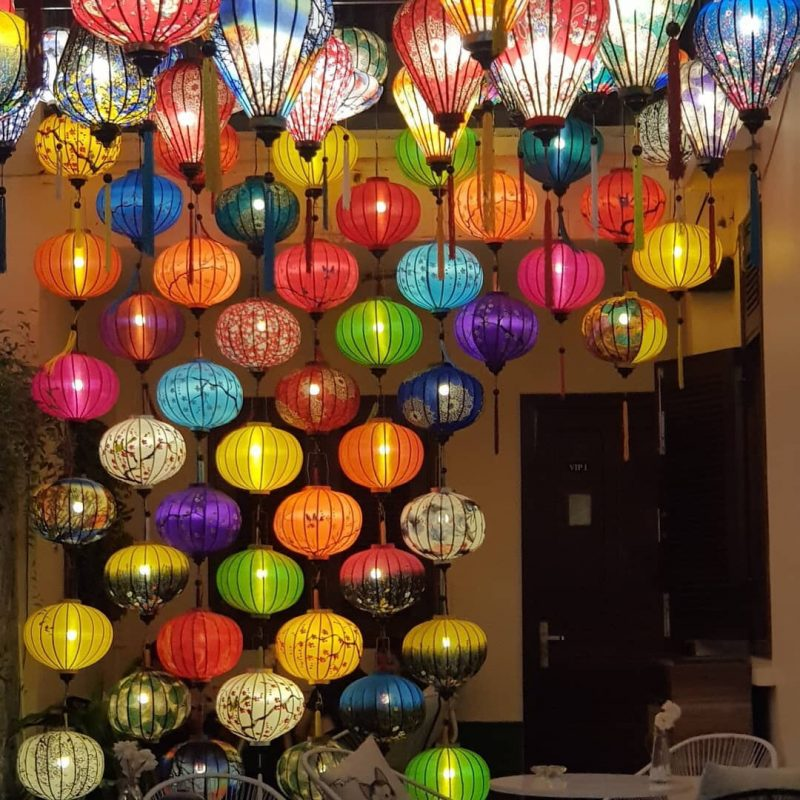 Đèn lồng Hội An rẻ đẹp   Xưởng đèn lồng