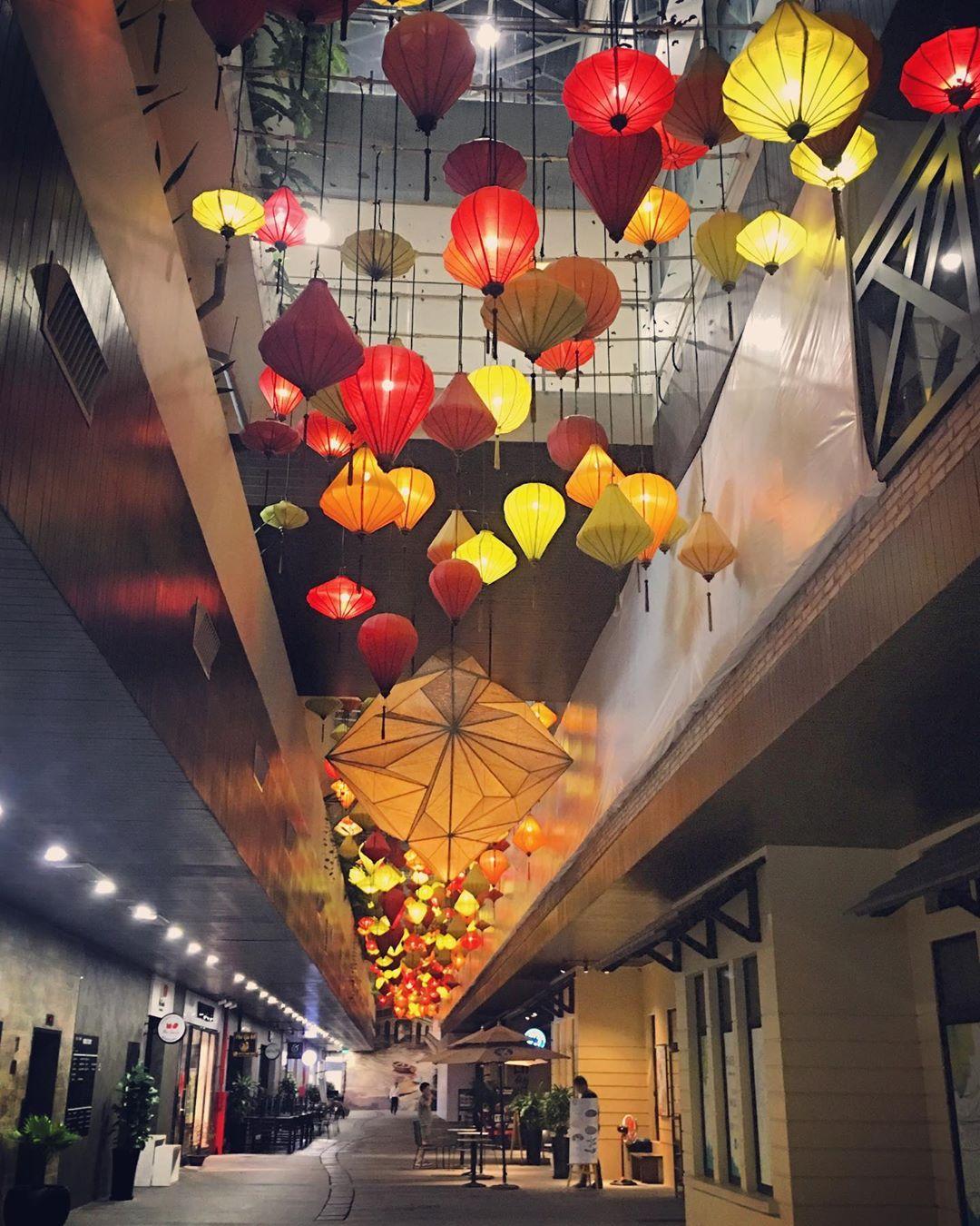 Đèn lồng lụa trang trí sự kiện tết | Xưởng đèn lồng Hội An