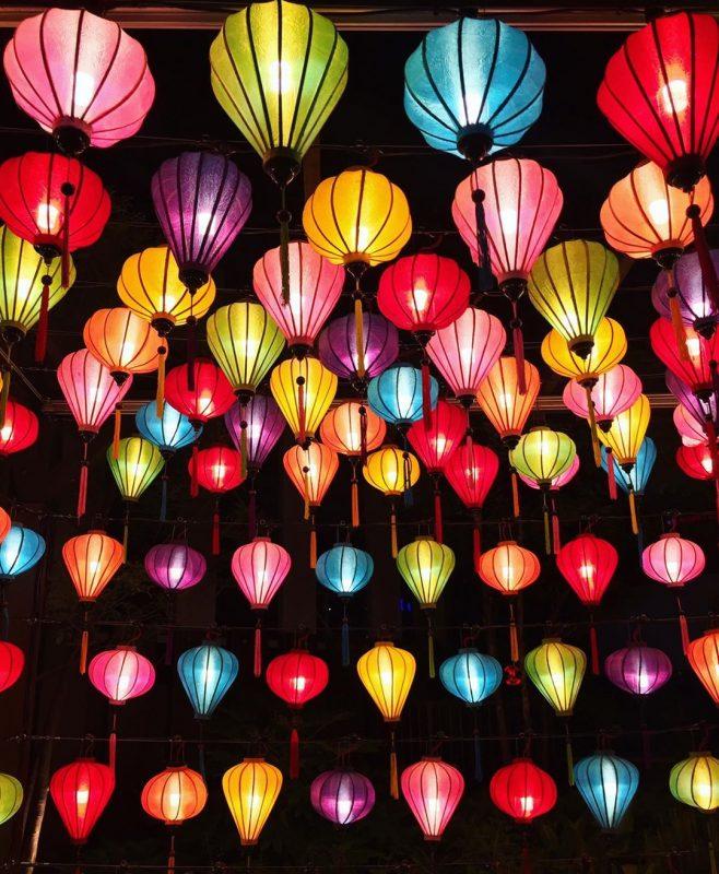 Xưởng đèn lồng Hội An - Đèn lồng Việt