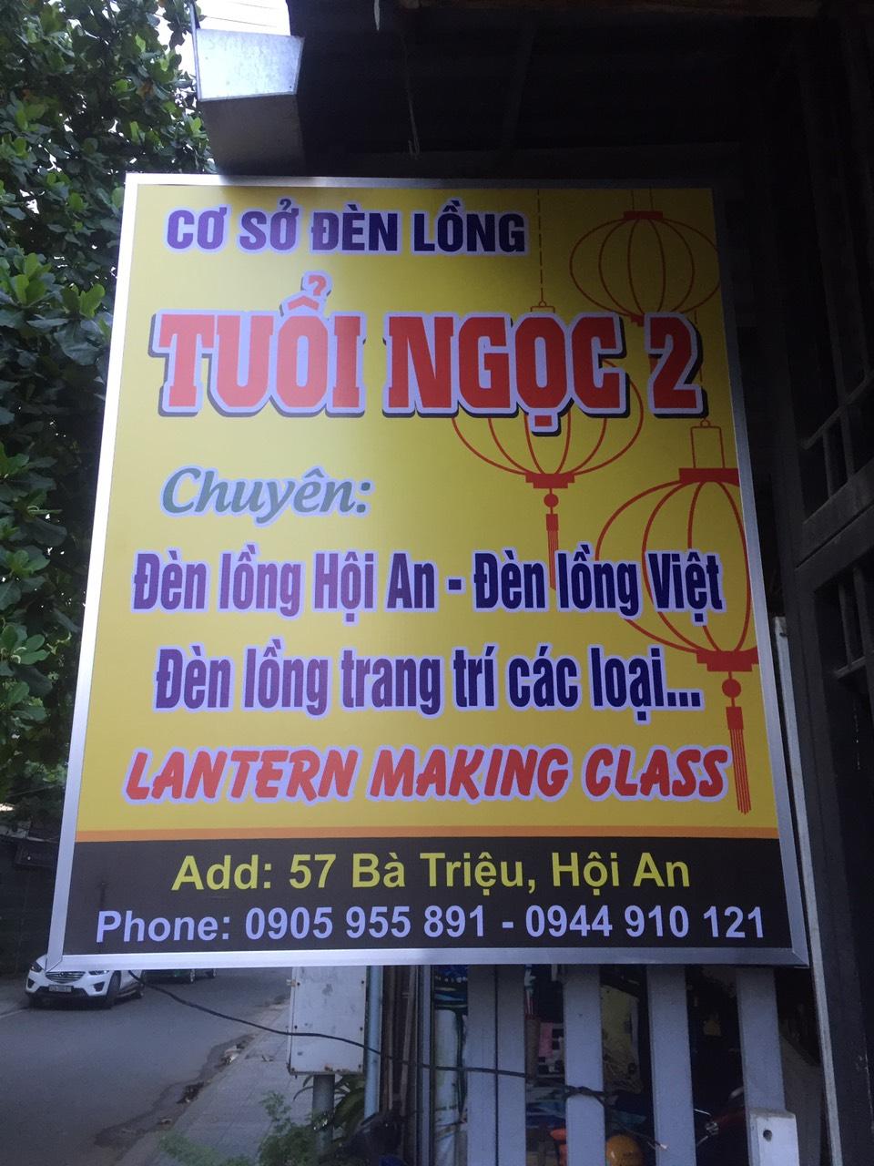 Cơ sở đèn lồng Tuổi Ngọc | Đèn lồng Việt