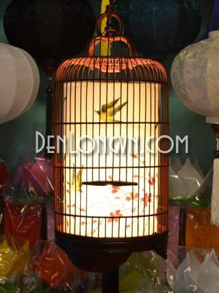Đèn bàn trang trí lồng chim