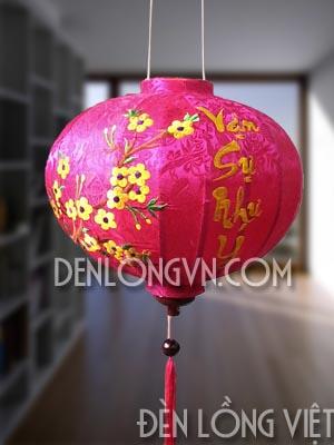 Lồng đèn trang trí Tết năm mới vạn sự như ý