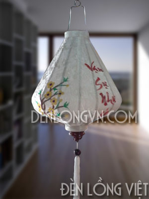 Đèn lồng tết kim cương vạn sự như ý DLT047