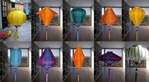 Các loại đèn lồng Hội An