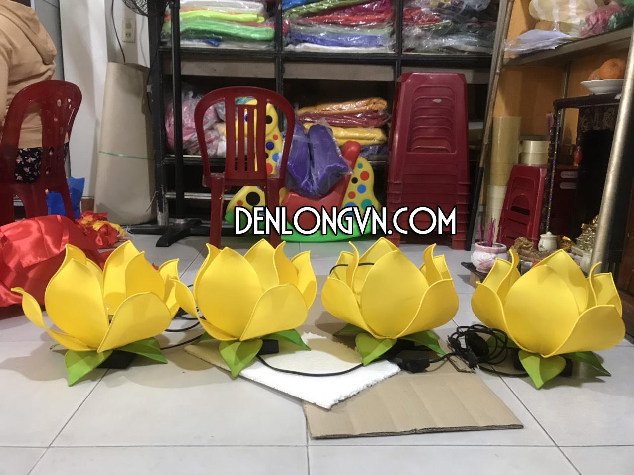 Lồng Đèn Hoa Sen trang trí dịch vụ tang lễ