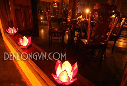 Lồng đèn lụa để bàn trang trí bàn tiệc | Lồng Đèn Viêt