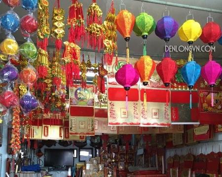 Cửa hàng đèn lồng Hội An tại TP Nha Trang